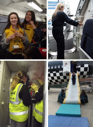 cabin crew wings course