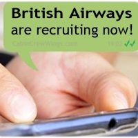 cabin crew recruitment alert