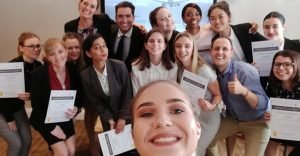 Cabin Crew Wings Course - April delegates
