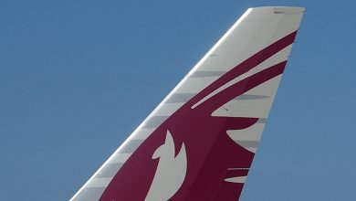 Qatar airlines tail