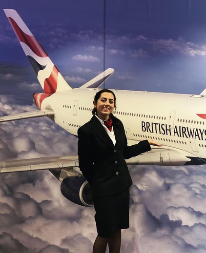 Laura Lee - flying with BA