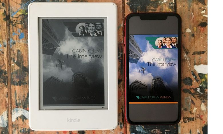 using our Cabin Crew Wings eBooks